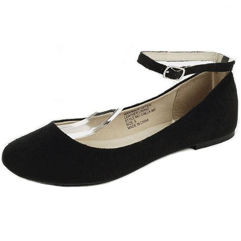 Flat Shoes A S alpineswiss calla womens ballet flats ankle shoe