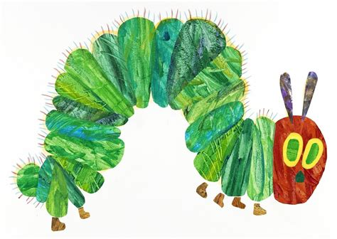 the very hungry caterpillar la eric carle illustration from the very hungry caterpillar 1969 and 1987 artsy
