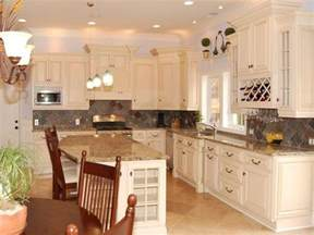 Antique White Cabinets With White Appliances by Antique White Kitchen Cabinets Design Kitchen Cabinets