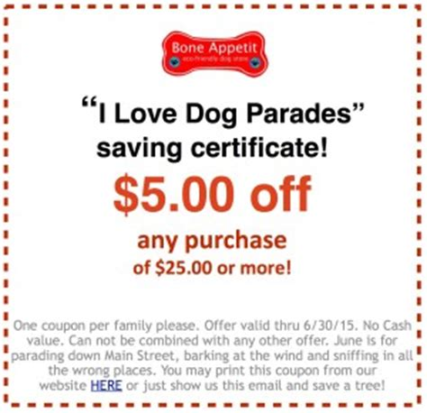 dog food coupons june 2015 june2015 coupon bone appetit eco friendly dog store