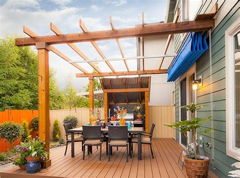 retractable patio cover  vancouver  images