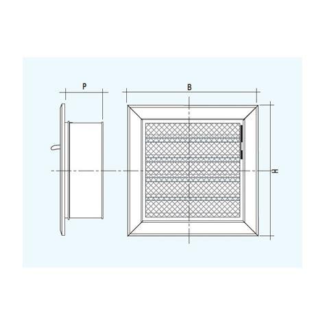 Grille Ventilation Reglable by Grille De Ventilation R 201 Glable Encastr 201 Centro Edile
