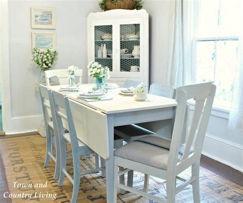 Dining Room Ideas Duck Egg Decorating With White Town Country Living