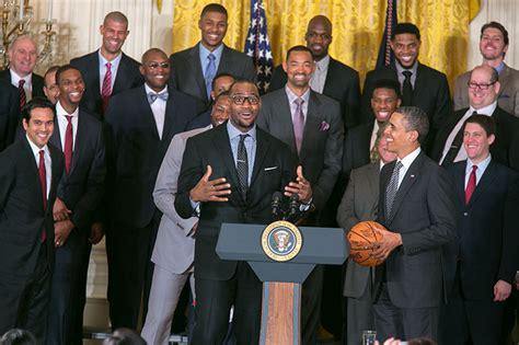 president barack obama whitehousegov president obama welcomes the miami heat to the white house
