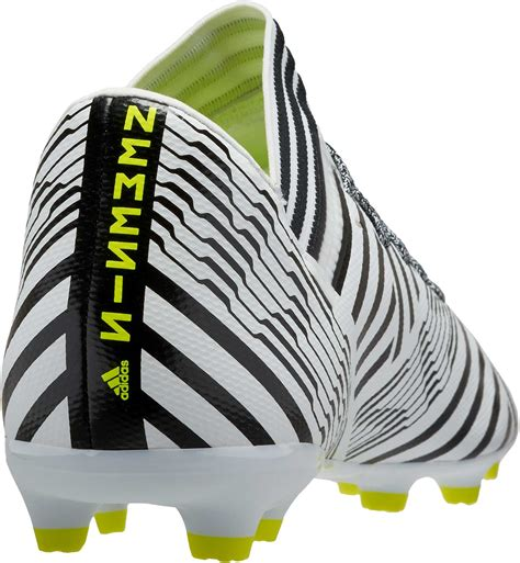 Adidas Nemeziz 17 3 Fg Adidas adidas nemeziz 17 3 fg youth white soccer cleats