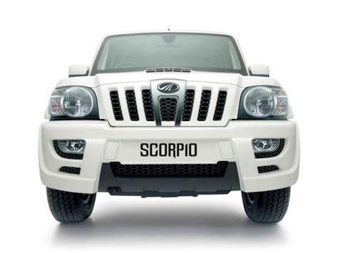 mahindra scorpio technical specifications and fuel economy