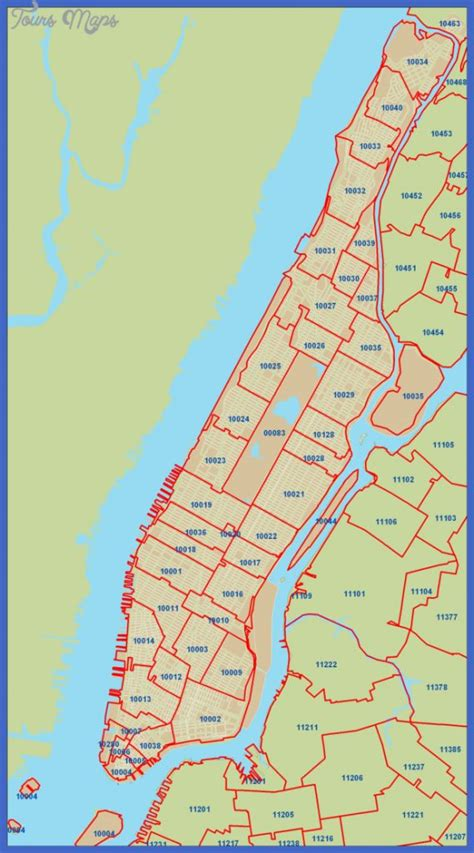 zip code maps usps new york zip code map toursmaps com