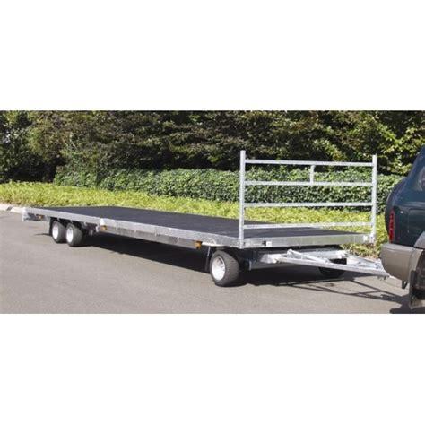 remorque porte voiture 3 essieux remorque plateau rond avant