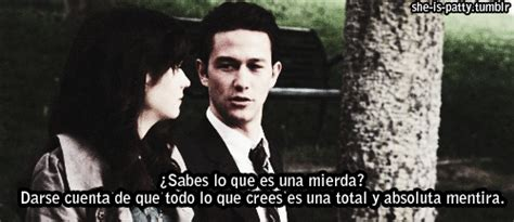 imagenes de peliculas de amor tumblr gif 500 days of summer frases zooey deschanel amor shit