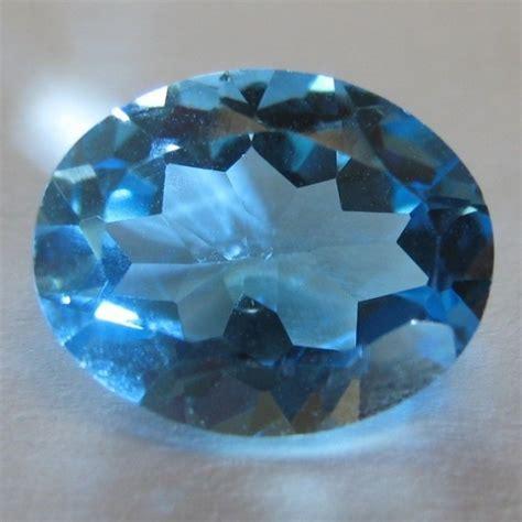 Topaz Biru batu permata topaz biru bersih 2 64 carat