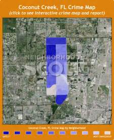where is coconut creek florida on map coconut creek crime rates and statistics neighborhoodscout