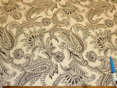 paisley pattern in french french paisley color gunmetal laura kiran hand printed