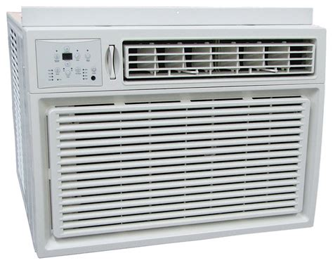 comfort aire comfort aire 18 500 btu window air conditioner and heater
