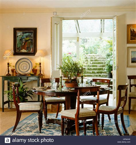 country style dining rooms a country style dining room with french doors leading