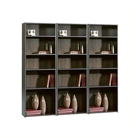 sauder cherry bookcase sauder beginnings 5 shelf bookcase cherry 2016