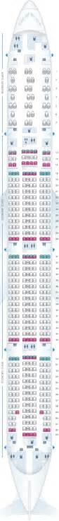 air canada 77w seat map seat map air canada boeing b777 300er 77w america