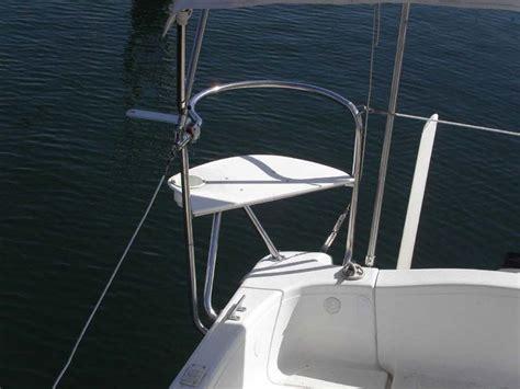 sailboat stern rail macgregorsailors view topic stern rail seats for an x