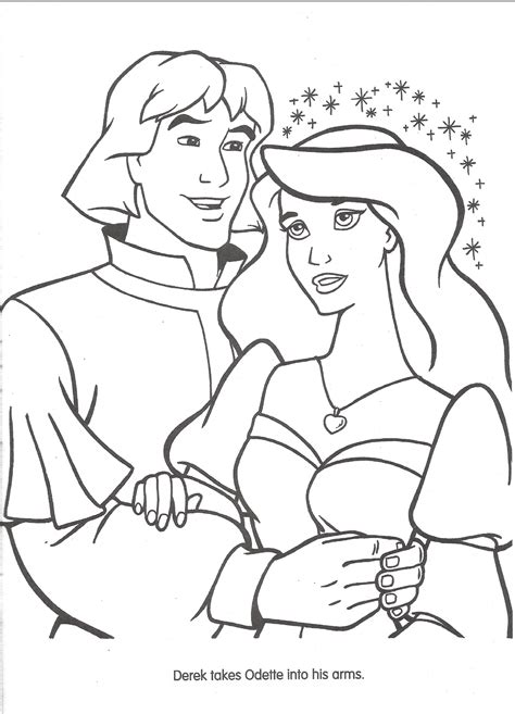 image swan princess official coloring page 36 png the
