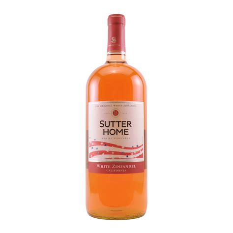 sutter home white zinfandel 1 5l elma wine liquor