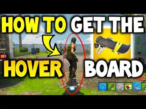 fortnite hoverboard how to unlock the hoverboard in fortnite hoverboard