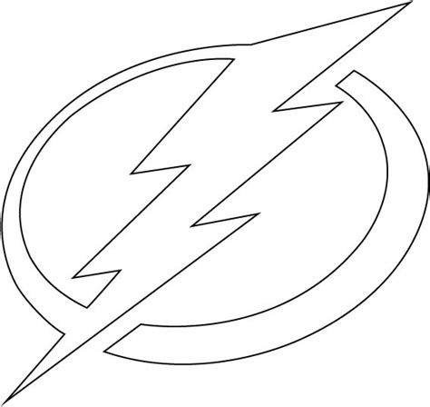 Flash Symbol Outline by Broken Flash Symbol
