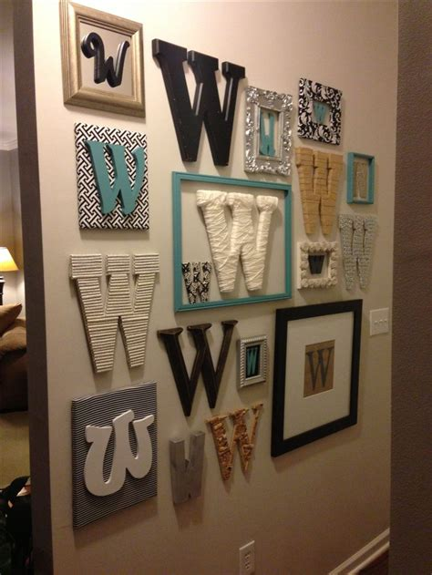 Letter Initials Wall Decor by Best 25 Metal Wall Letters Ideas On
