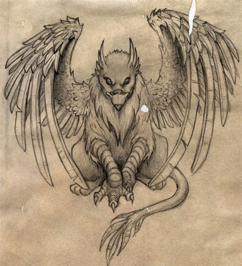 tattoo nightmares griffin gryphon by totalrandomness tattoos pinterest dr who