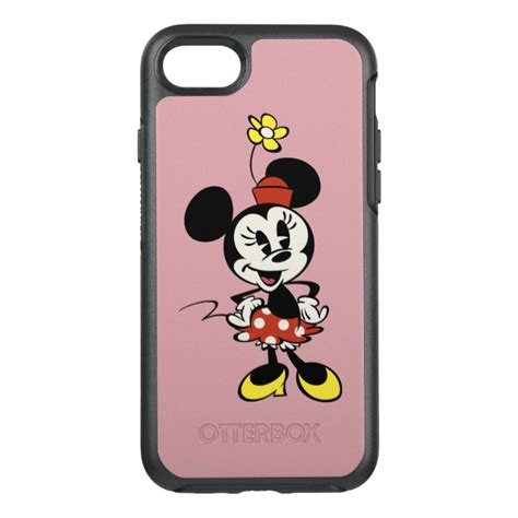 I Phone 7 Mickey Black mickey shorts minnie mouse otterbox symmetry iphone 7 plus