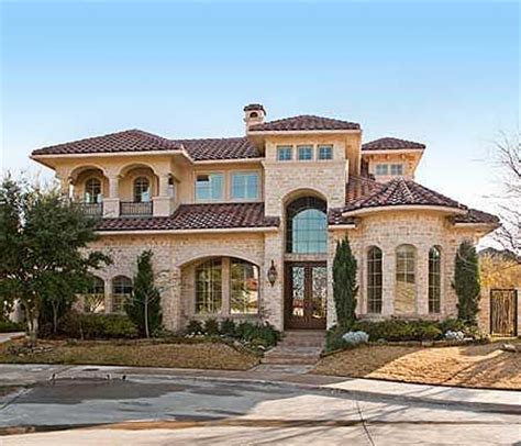 luxury mediterranean homes plan 36145tx spectacular two story family room house