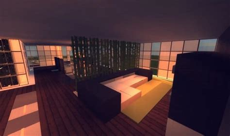 modern minecraft mansion living room by thefawksyartist on flow home minecraft building inc