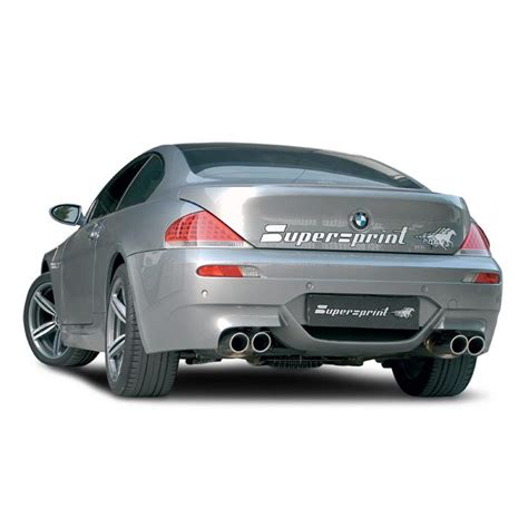 bmw e63 m6 exhaust bmw e63 coup 232 m6 5 0i v10 05 gt bmw m exhaust systems