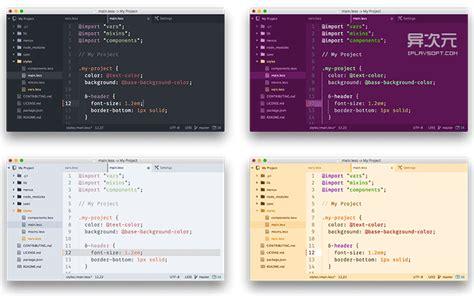 atom wp themes atom 更为先进的文本代码编辑器 由 github 打造的下一代编程开发利器 异次元软件下载
