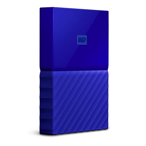Wd Passport 1 Tb 2 5 Usb 3 0 Hitam wd my passport 1tb 2 5 quot usb3 0 blue wdbynn0010bbl wesn