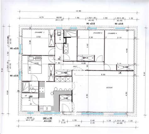 Plan Maison Plain Pied 100m2 4121 by Conseils Pour Une Maison De Plain Pied 100m2 118