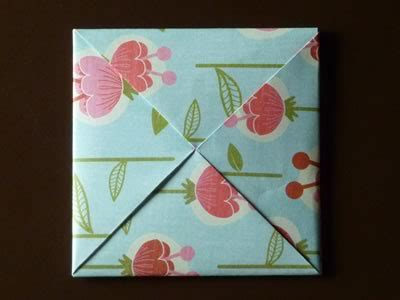 Origami Envelope Square Paper - beautiful origami envelope folding and