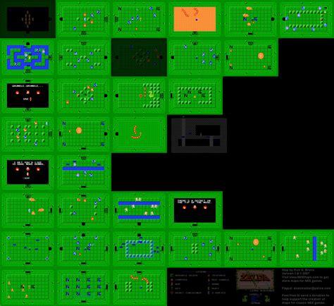 legend of zelda map level 5 the architecture of the legend of zelda nes snes