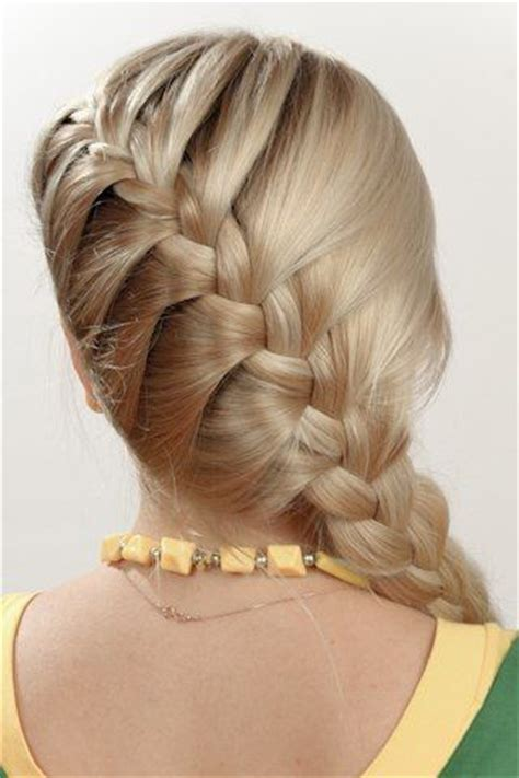 french braids pin up on the sid for black woman side french braid ponytail for little girl kids