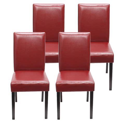 leder küchenstühle k 252 chenstuhl rot kunstleder bestseller shop f 252 r m 246 bel und