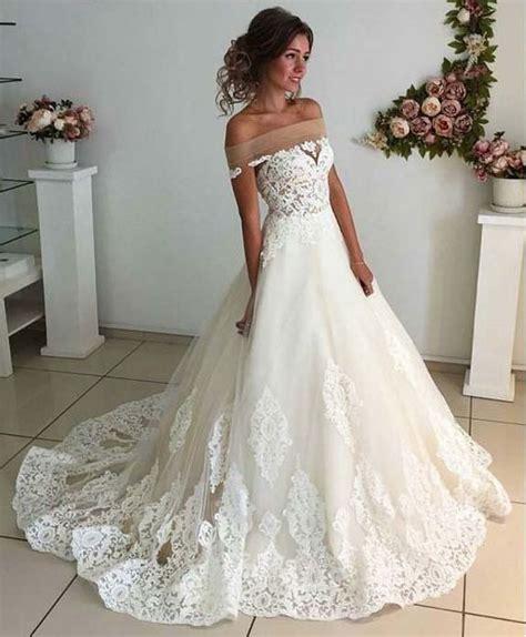 Unique Affordable Wedding Dresses affordable lace unique wedding dress the shoulder
