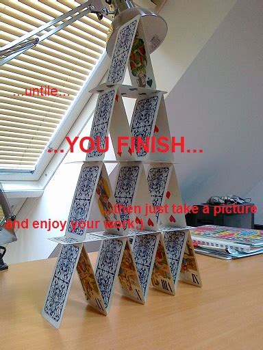 how to make a card tower how to build a tower of cards