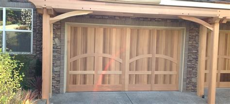 Cedar Front And Garage Door Nw Portland Or Portland Garage Doors Portland Or