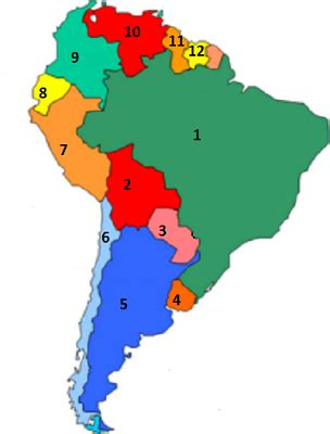america map quizzes south america fill in the blank map quiz