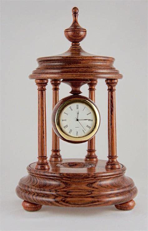 Wooden Desk Clock Plans