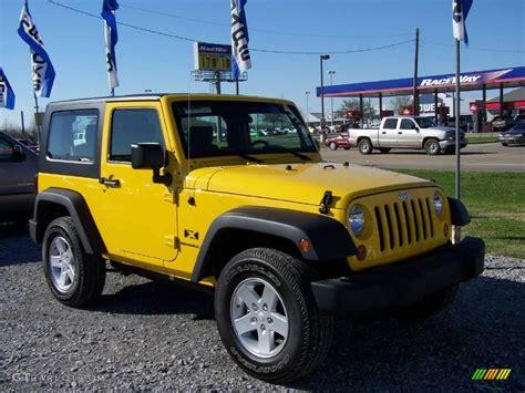 yellow jeep interior 2008 detonator yellow jeep wrangler x 4x4 4312910