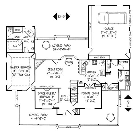 farmhouse floor plans with pictures amish hill country farmhouse plan 067d 0011 house plans