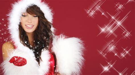 christmas beauty european christmas beauty model hd