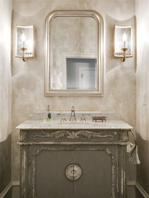 french country powder room ideas pictures remodel  decor