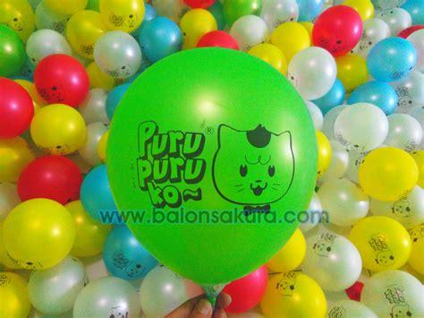 Balon Biasa Bergambar Balon Ulang Tahuntermurah sablon balon surabaya balon printing balon
