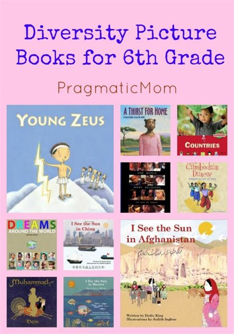 for picture books diversity picture books for 6th gradepragmaticmom