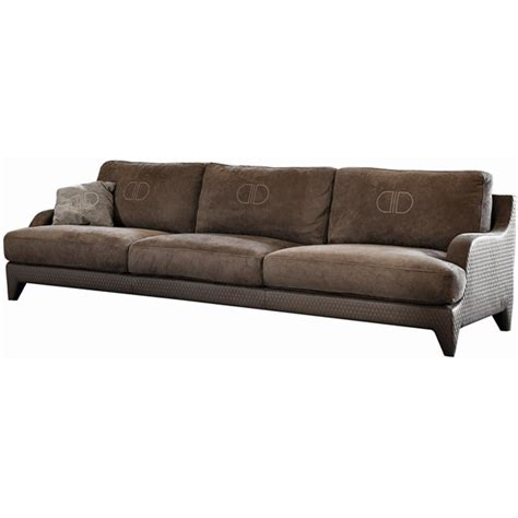 Quilted Couches by Touched D Upholstered Quilted Leather Sofa
